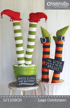 Legs Celebrate ePattern PDF | Sewing Pattern | Christmas | Halloween | YouCanMakeThis.com