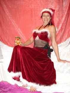 Geile weihnachtsfrau