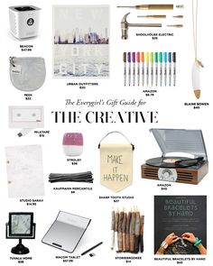 The Everygirl's 2014 Holiday Gift Guide for THE CREATIVE #theeverygirl