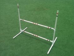 Free plans and pictures of PVC pipe projects. Dog jump