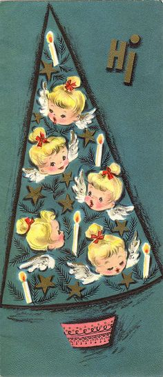 Angels in a Christmas tree!* Free 1500 paper dolls at Arielle Gabriels The International Paper Society also free China Japan paper dolls The China Adventures of Arielle Gabriel for Pinterest friends *