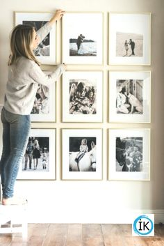 Awesome Wall Gallery Ideas for Perfect Wall Decoration . Awesome Wall Gallery Ideas for perfect wall design , Awesome Wall Gallery Ideas For Perfect Wall Decor . Room Interior, Interior Design Living Room, Living Room Decor, Interior Livingroom, Bedroom Wall, Bedroom Decor, Bedroom Ideas, Frames On Wall, Wall Picture Frames