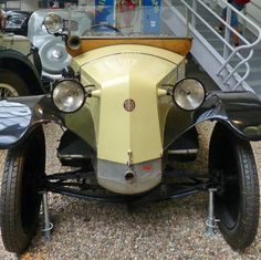 Tatra 11 - 1925 - Vintage car at the National Technical Museum of Prague, Czech… Vintage Cars, Antique Cars, Front Grill, Classic Cars, Prague Czech, Grills, Czech Republic, Vehicles, Gallery