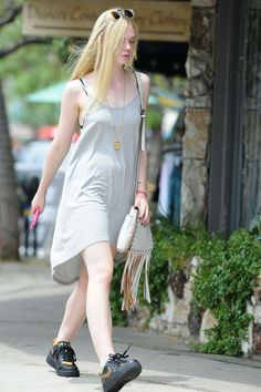 Elle Fanning – Out in Los Angeles, August 2014