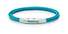 "Nomination ""You-Cool"" Teal Copper Bracelet /w Stainless Steel Lock Now available at Diamond Dream Fine Jewelers https://www.facebook.com/pages/Diamond-Dream-Fine-Jewelers/170823023636 https://www.diamonddreamjewelers.com info@diamonddreamjewelers.com 908.766.4700"