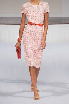 Oscar De La Renta boucle tweed dress