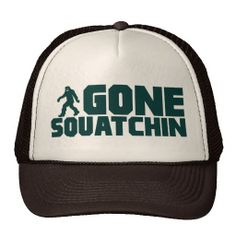 48f5bec959e vintage Bobo GONE SQUATCHIN Hat Finding Bigfoot Hats Online