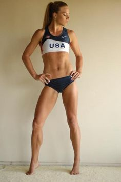 Found this on an inspirational blog with lots of exercises, daily tips and motivation.... #fitness  Sooo. this is what im always working out for, even if i never look like her, at least i tried.