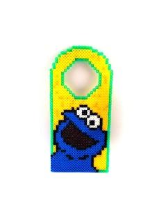 Monstruo de las galletas para la puerta by upcyclingbritain