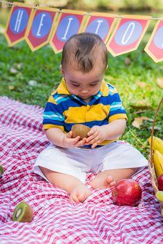 Smash the Fruit - Baby Photo