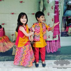 Little girl clothes kids fashion indian wedding dress, wedding attire, quests,. Twin Outfits, Little Boy Outfits, Little Girl Dresses, Kids Outfits, Kids Indian Wear, Kids Ethnic Wear, Baby Boy Dress, Baby Girl Dress Patterns, Kids Wear Boys
