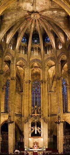 Catedral de Barcelona. Llamada de Santa Eulalia.