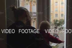 Looking Out The Window, Window Design, Video Footage, Watch V, Cute Babies, City, Cities, Funny Babies