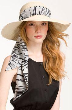 Eugenia Kim Hat.  So pretty for the summer.