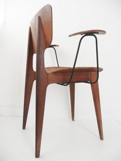 Roger Landault; Armchair for Bouvier, 1954.