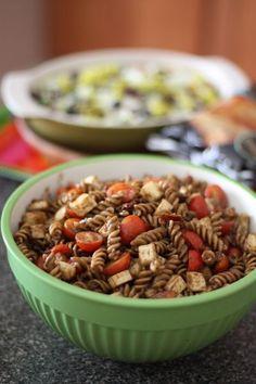 Pasta Salad Caprese