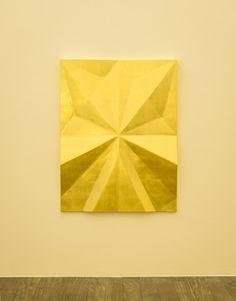Gonzalo Lebrija, Unfolded gold: Riff, 2015, Galerie Laurent Godin