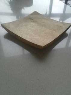 Schaal vierkant | AG Woodturning