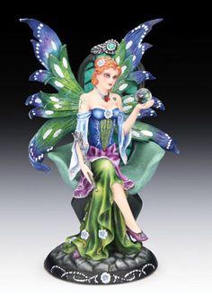 """Meliantha"" Spring Fairy Figurine"