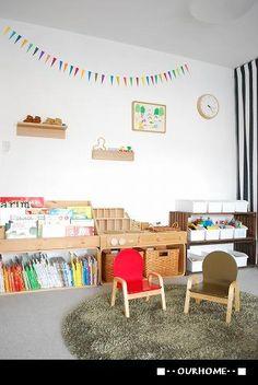■子ども部屋の収納@12個のおもちゃボックス。■ : OURHOME