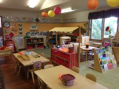 September set up for 3 year old class and 4K classroom