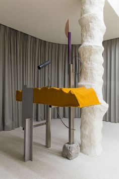 STUDIO UNRAVEL(스튜디오언라벨) LE DONG IL X ANDERSSON BELL (THE GREAT BEAUTY) EXHIBITION Design Shop, Store Design, Artistic Installation, Interior Decorating, Interior Design, Retail Interior, Commercial Design, Retail Design, Furniture Design