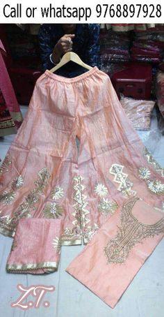 Sharara Suit, Shalwar Kameez, Indian Style, Indian Wear, Pakistani Dresses, Indian Dresses, Black And White Scarf, Blouse Designs Silk, Salwar Designs