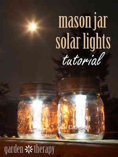 How To Make Stunning Mason Jar Solar Lights