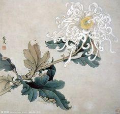 Art And Illustration, Watercolor Illustration, Watercolor Art, Watercolor Flowers, Illustrations, Chinese Painting Flowers, Japanese Painting, Art Floral, Oriental
