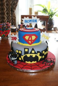 Two Silly Boys: Super Hero Birthday Party