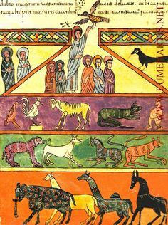 Early Spanish Mozarabic Manuscript - (Noah's Ark) THE URGELL BEATUS (10th century?)