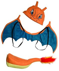 Rubie's Costume Pokemon Charizard Child Costume Kit -- Want additional info? Click on the image.