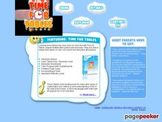 Time for Tables - Multiplication games
