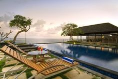 (CREDITS: Tripadvisor)  Ten Holiday Villas With Beautiful Swimming Pools:  Indigo Dream Villa, Bali (This luxurious six-bedroom villa can be found on the top of the Pandawa Beach cliffs in Bali, on the southern coast of the Bukit Peninsula. Take a dip in the beautiful infinity pool and soak up the views of the glittering ocean. Sleeps six. From £5,678 per week.)