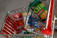 Miniature groceries tiny bags of chips miniature food by AbateArts, $6.00