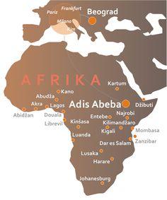 Afrika Nema Karta Reke.77 Best Putovanja Saveti Images Useful Life Hacks Useful Tips