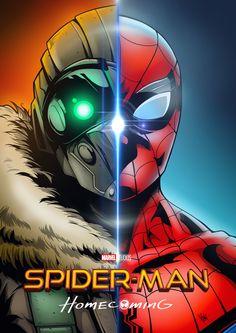 Spider-Man Homecoming Art by Boy Pichapop