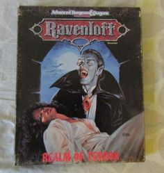 Ravenloft Realm of Terror BOX SET DUNGEONS & DRAGONS AD&D 2ND EDITION…