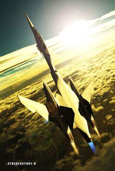 SR-504 CYBERFACTORY-H blog: Aircraft.