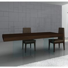 Float Modern Dining Table by J Furniture