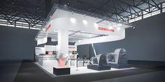 Siebtechnik GmbH / TEMA Process  Konzeptentwurf zur Achema, Frankfurt  226m²