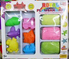 Kit nisip kinetic Royal Sand Cleaning Mold, Cube, Kit, Interior, Indoor, Interiors