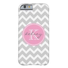 Cute and girly design with a modern preppy zigzag chevron pattern, personalized with your custom monogram name and initial in a chic circle frame. Click Customize It to change the monogram text fonts and colors to create your own one of a kind design. Adorable and unique gifts! #monogram #monogrammed #chevron #zigzag #preppy #cute #trendy #girly #custom #personalized #stripe #striped #stripes #chic #cool #modern #pattern #print #girl #girls #name #initial
