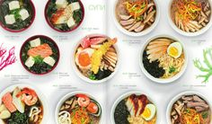 Sushiya new Menu on Behance