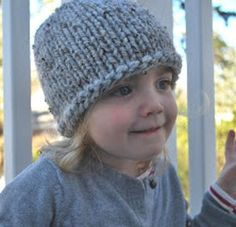 This precious little knit baby hat pattern is sure to become next your go-to pattern. The Favorite Toddler Hat features a simple stockinette stitch base knit with super bulky yarn.