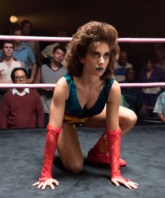 """Catch up on the hilarious series from the creators of """"OITNB"""" and meet the Gorgeous Ladies Of Wrestling. Starring Alison Brie and Marc Maron."""