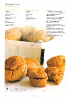 Revista bimby pt-s01-0004 - setembro 2008 Betty Crocker, Food Inspiration, Dessert, Easy Meals, Stuffed Peppers, Healthy Recipes, Food And Drink, Dinner, Eat