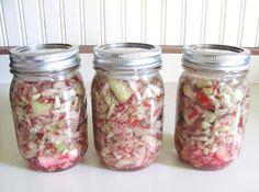 Sweet Domesticity: Rhubarb Infused Vodka