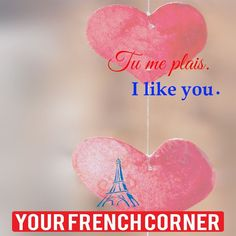 20 Words And Sentences To Express Your Love In French Love In French, Learn French, Teach Yourself French, Kids Sight Words, Learning People, How To Make Macarons, French Verbs, French Immersion, France