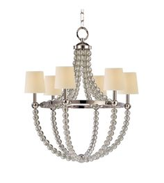 Hudson Valley 3130-Agb Danville 5 Light Chandelier In Aged Brass